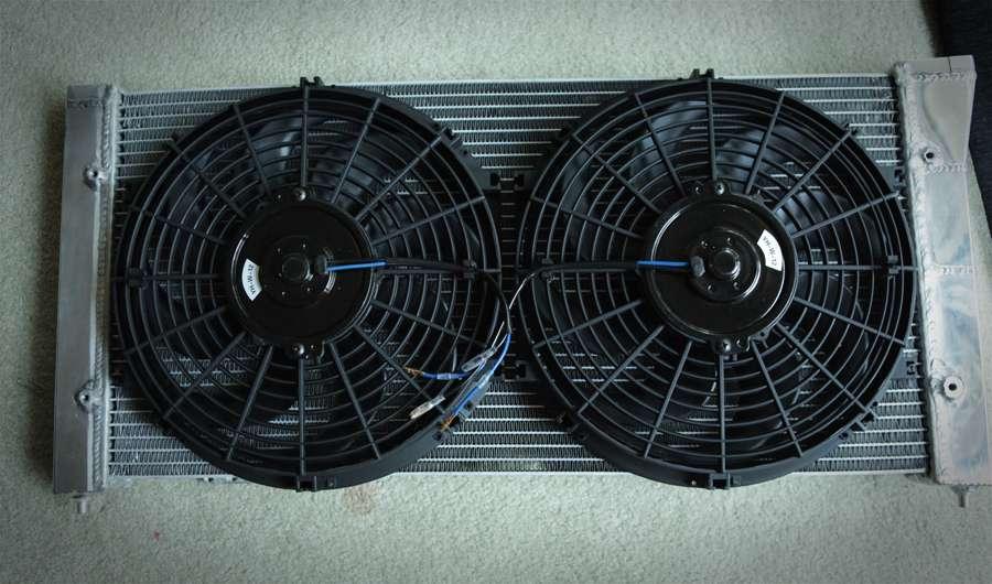 vwvortex com aftermarket radiator w  slim fans need
