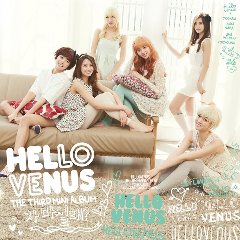[Mini Album] HELLOVENUS - Do You Want Some Tea ?