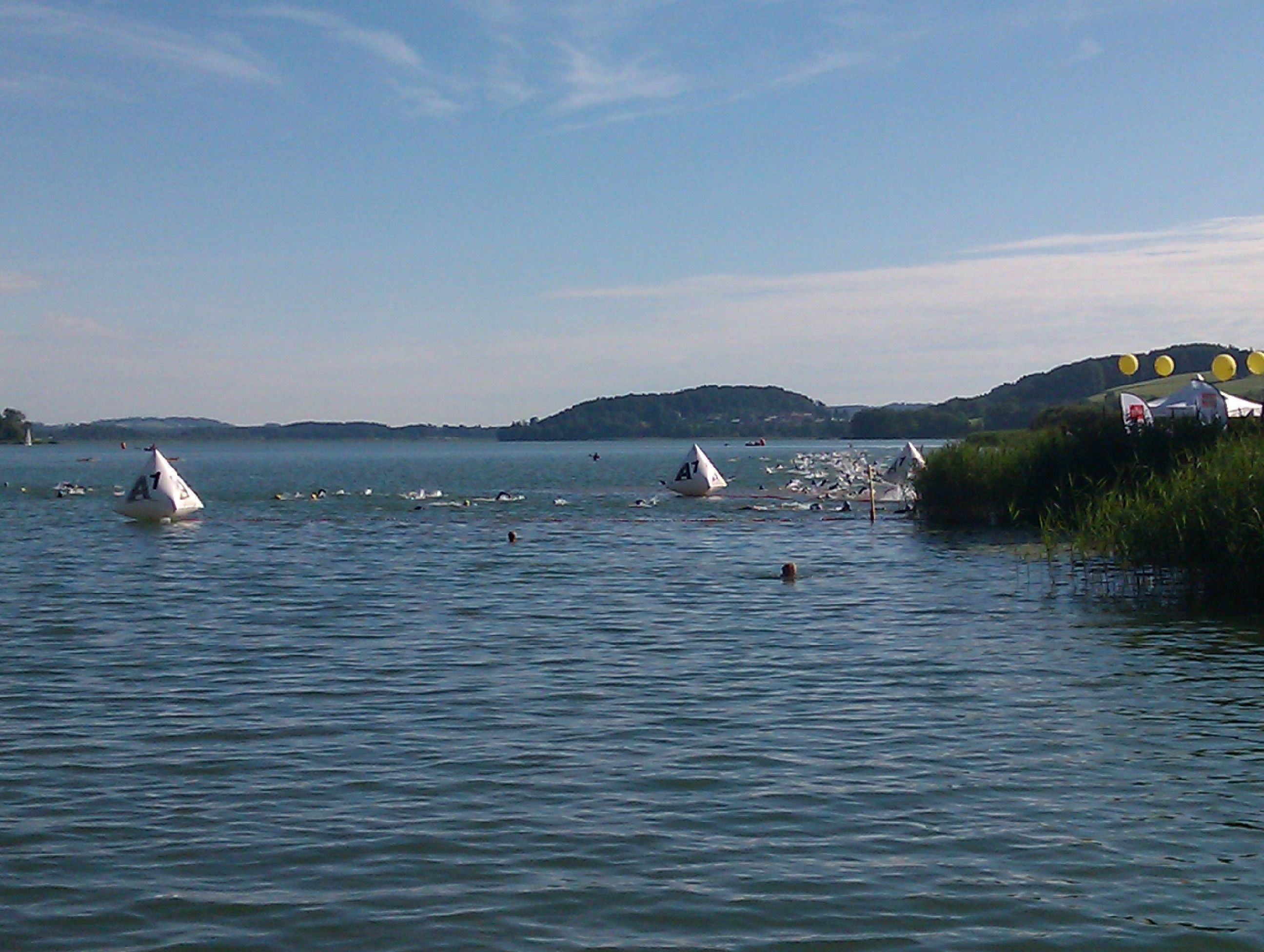 Trumer Triathlon - plivanje