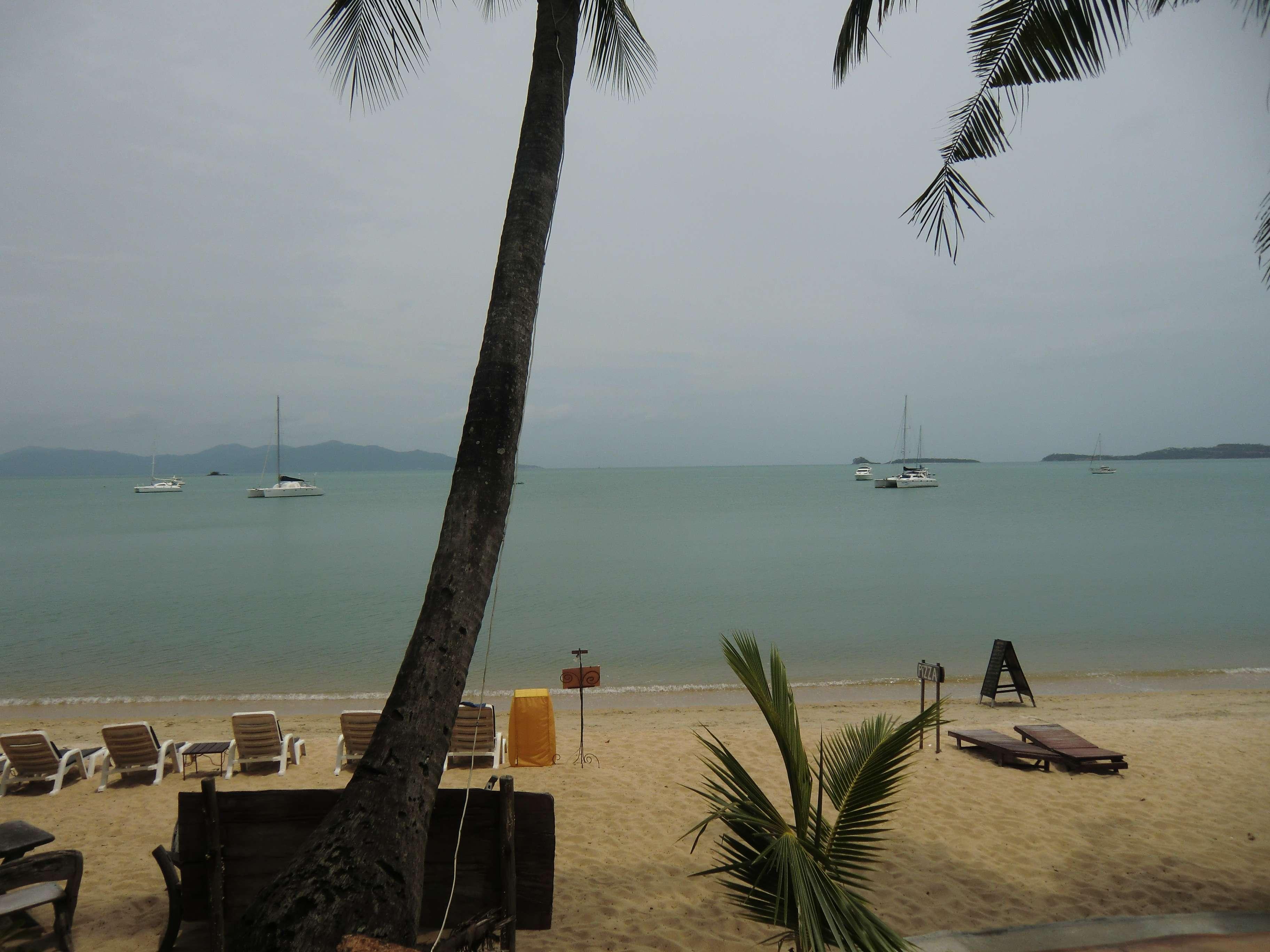 der Ausblick von der Resort Terrasse