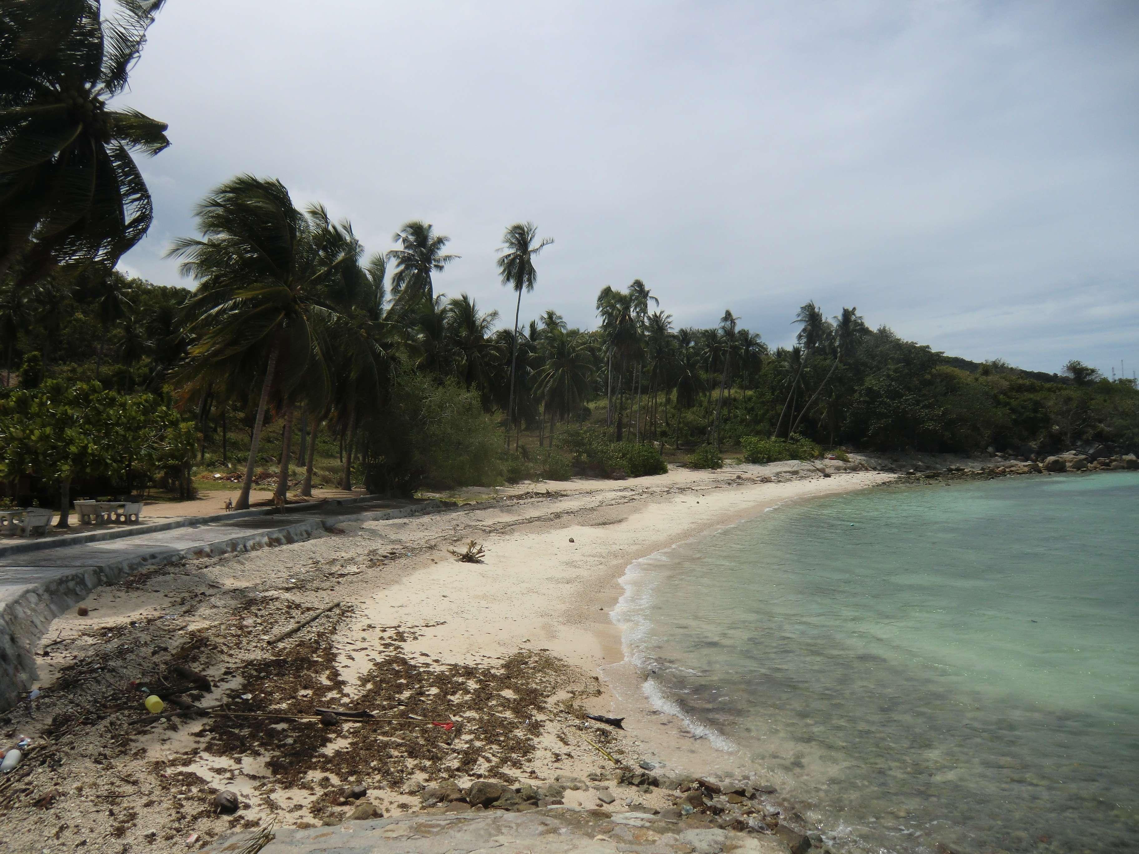 """der kleine Strand von """"Haad Thian"""""""