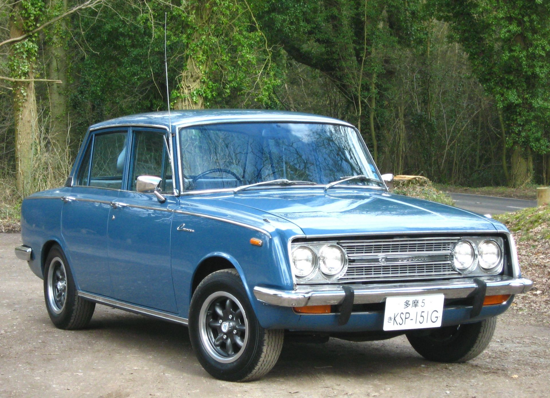 Toyota Corona - Best 2 Travel Wallpaper