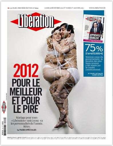 Libération Lundi 31 décembre 2012