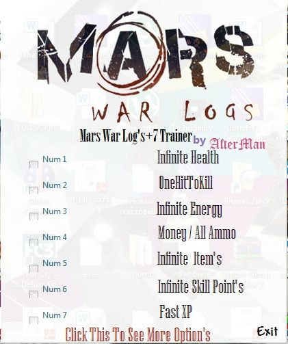 marswarlogs107trainer Mars: War Logs +7 Trainer