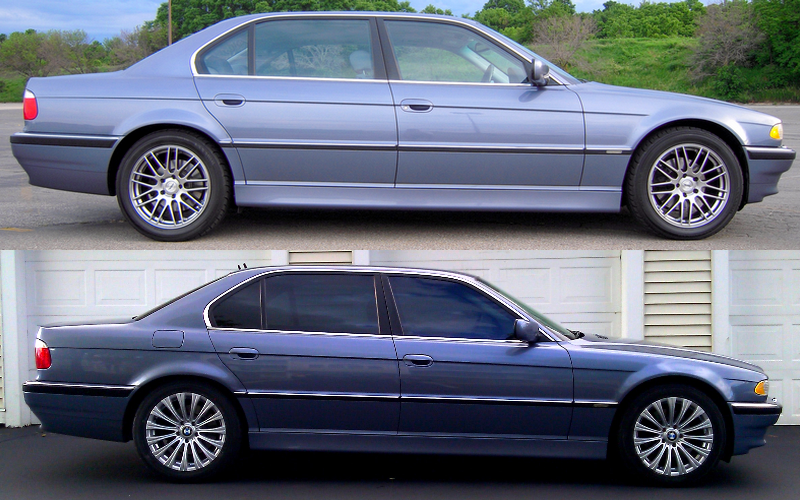 new wheels for my 2001 bmw e38 lang in stahlblau. Black Bedroom Furniture Sets. Home Design Ideas