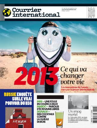Courrier International 1157 du 03 au 09 Janvier 2013
