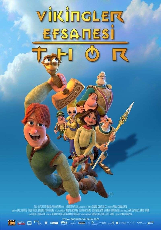 Vikingler Efsanesi Thor - 2011 BRRip XviD - Türkçe Dublaj Tek Link indir