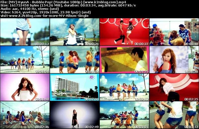 HyunA - Bubble Pop (HD) thumbnail